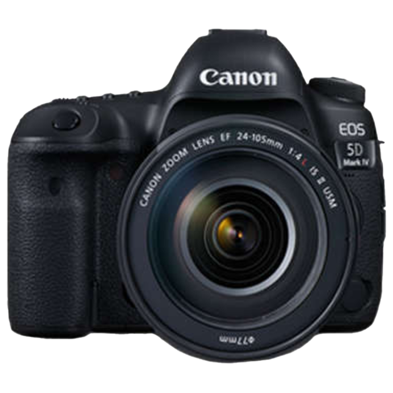Canon 30.4 MP DSLR Camera Body with 24 - 105 mm Lens (EOS 5D Mark IV, Black)_1