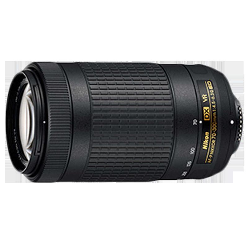 Nikon AF-P DX Nikkor 70-300 mm F4.5-F6.3 ED VR Lens (JAA829DA, Black)_1