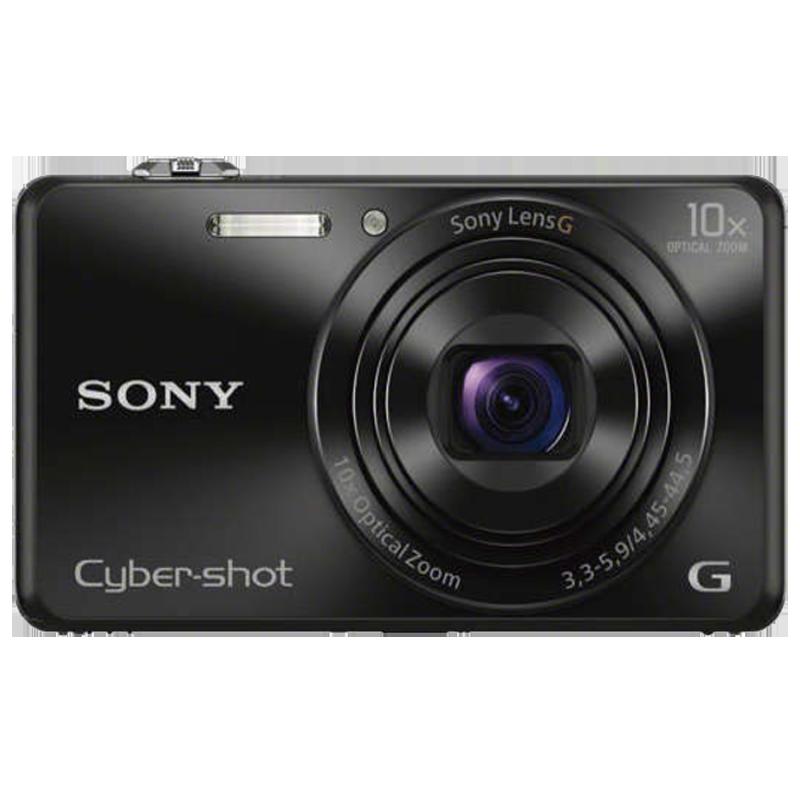 Sony Cyber Shot 18.2 MP Point & Shoot Camera (DSC-WX220, Black)_1