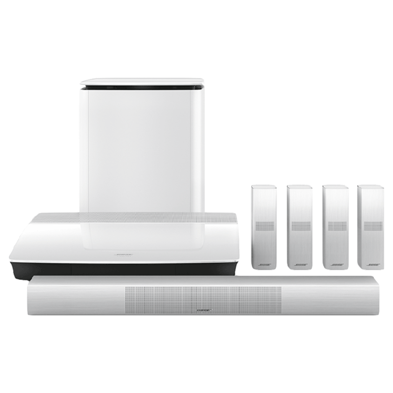 Bose Lifestyle 6.1 Channel Home Theatre System (650, White)_1