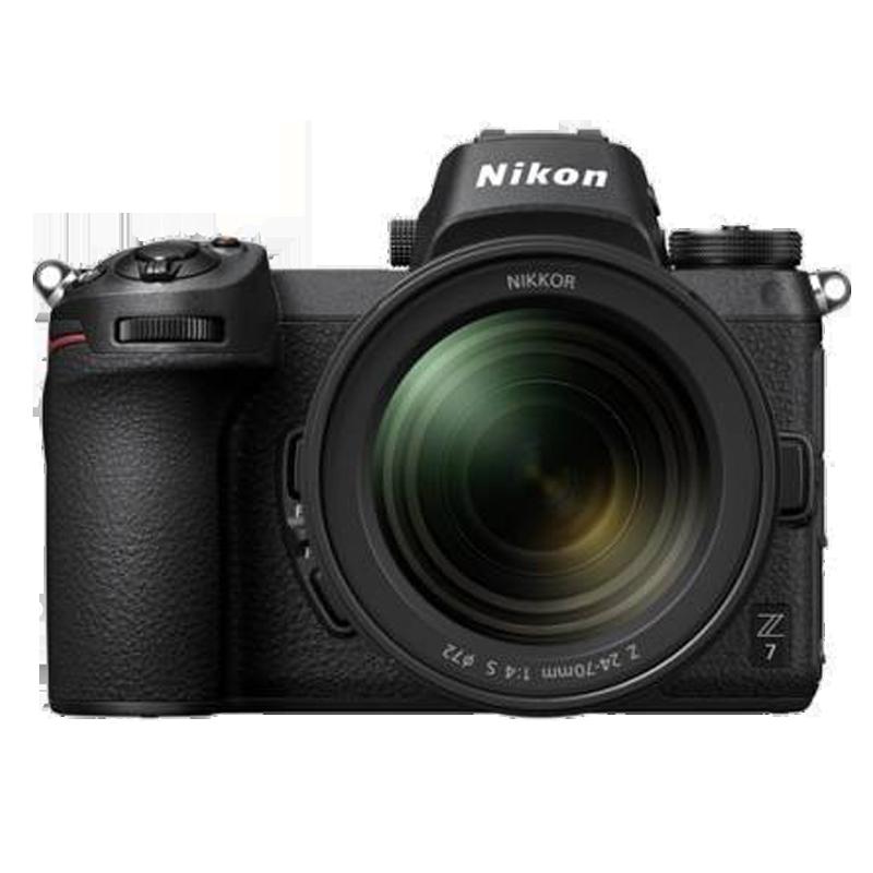 Nikon Z7 45.7 MP Mirrorless Camera Body with 24 - 70 mm Lens (VOK010VN, Black)_1