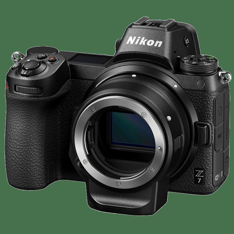 Nikon Z7 45.7 MP Mirrorless Camera (Body Only) (VOK010WN, Black)_1