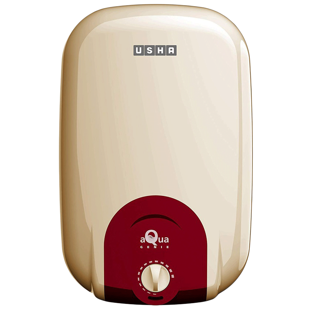 Usha 25 Litres 5 Star Storage Water Geyser (2000 Watts, Aqua Genie, Ivory Red)_1