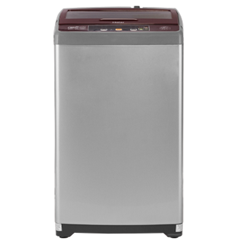 Haier 7 kg Fully Automatic Top Loading Washing Machine (HWM70-707NZP, Silver Grey)_1