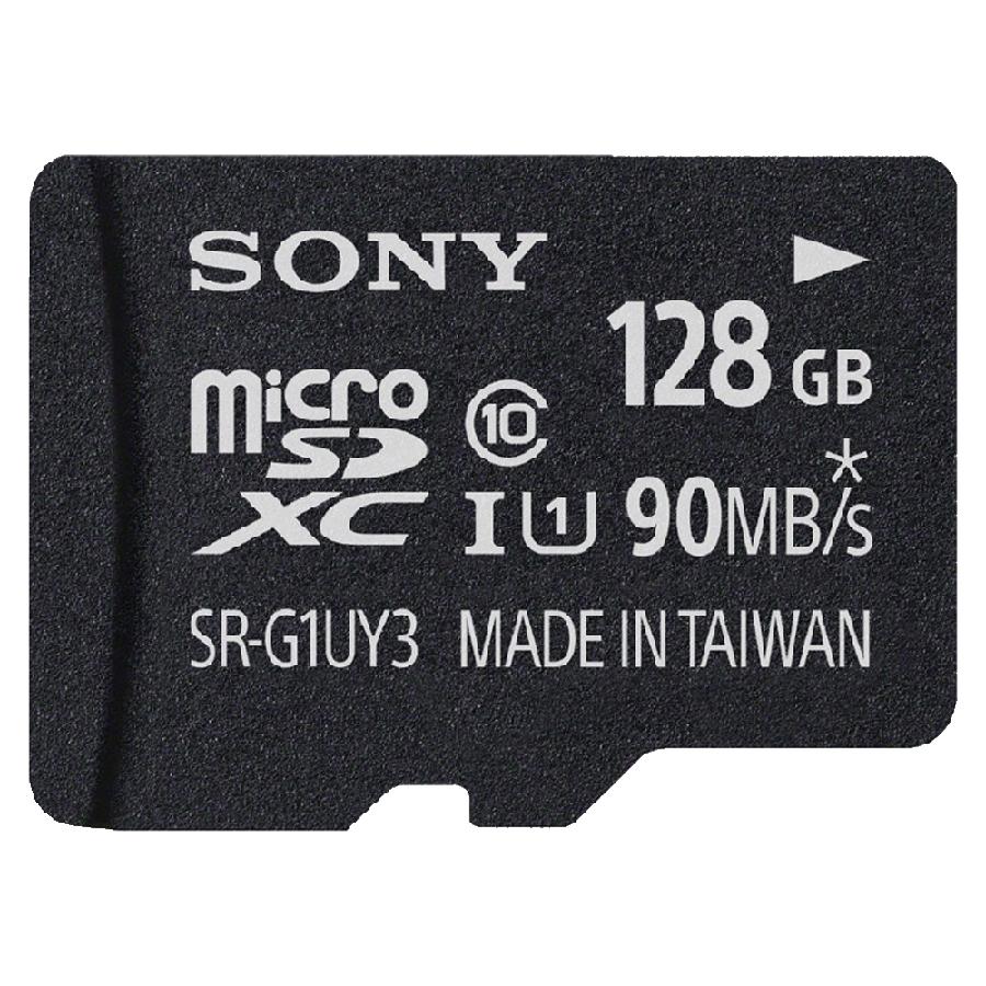 Sony 128GB Class 10 MicroSDXC Memory Card (SR-G1UY3A, Black)_1