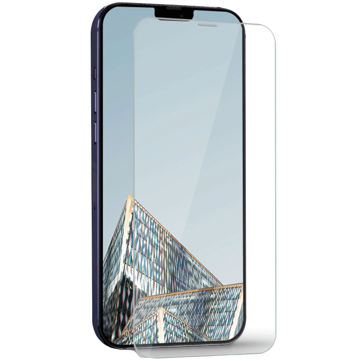 Hyphen Scratchgard Tempered Glass Screen Protector For iPhone 12 and iPhone 12 Pro (9H Hard Glass, HTG-CXII617640, Clear)_1