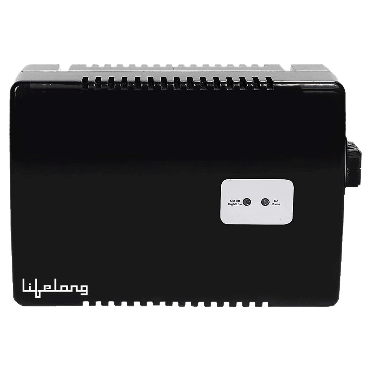 Lifelong 170-270V Air Conditioner Voltage Stabilizer for up to 1.5 Ton (LLVST300, Black)_1