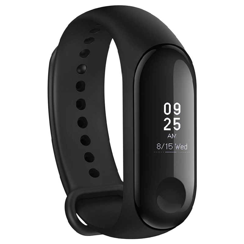 Xiaomi Mi Band 3 Fitness Tracker (19mm) (Water Resistant, MGW4039IN, Black, Plastic Band)_1