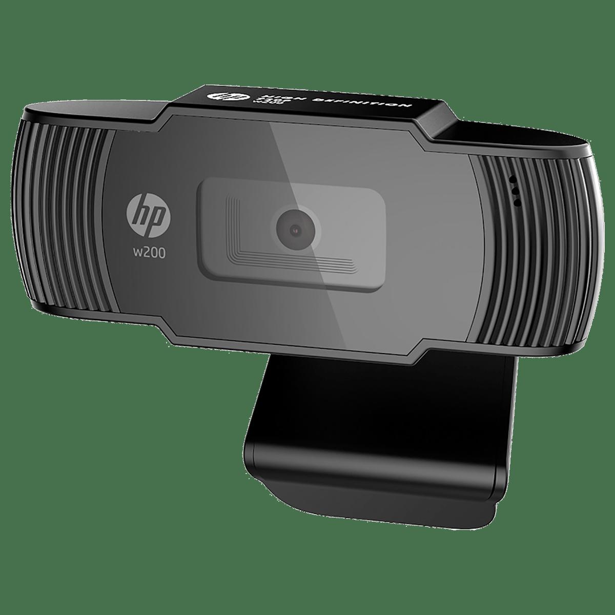 HP w200 Webcam For Desktop (720p Resolution, 20L58AA, Black)_1