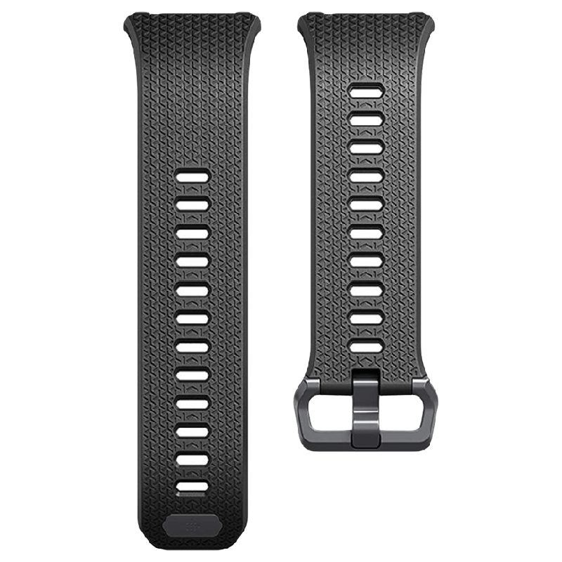 Fitbit Ionic Large Smart Band Strap (FB164ABGYBKL, Black)_1