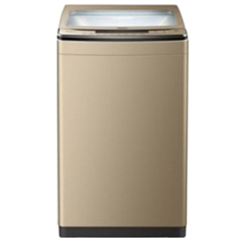 Haier 8.2 kg Fully Automatic Top Loading Washing Machine (HSW82-528NZP, Champagne Gold)_1