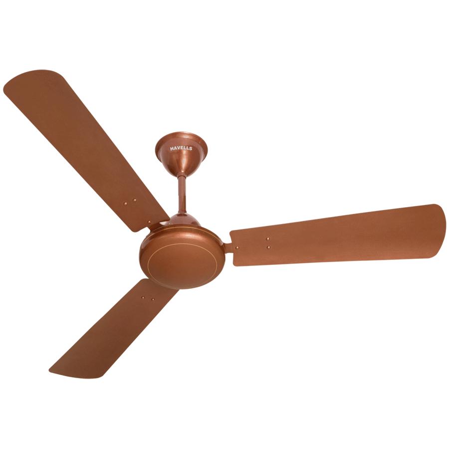 Havelles Metallic Ceiling Fan (SS 390, Sparkle Brown)_1