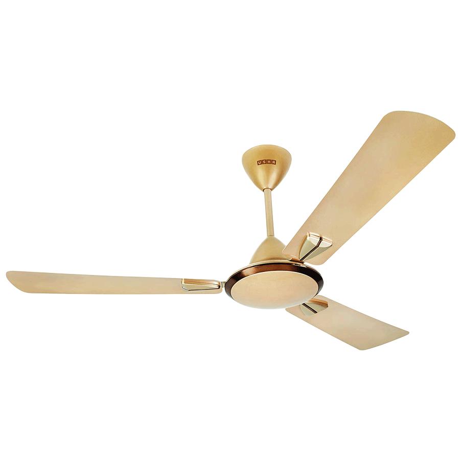 Usha Striker Galaxy Ceiling Fan (8901420018564, Bright Gold)_1
