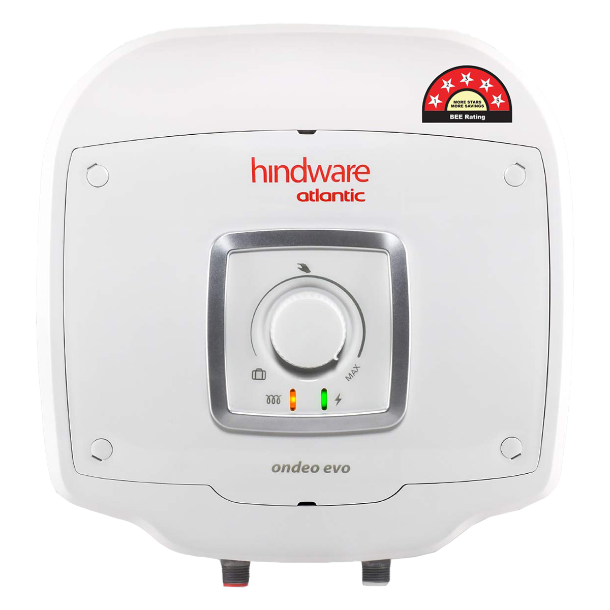 Hindware Atlantic Ondeo Evo 25 Litres 5 Star Rating Storage Water Heater (240 Watts, SWH 25A-2 M-2, White)_1