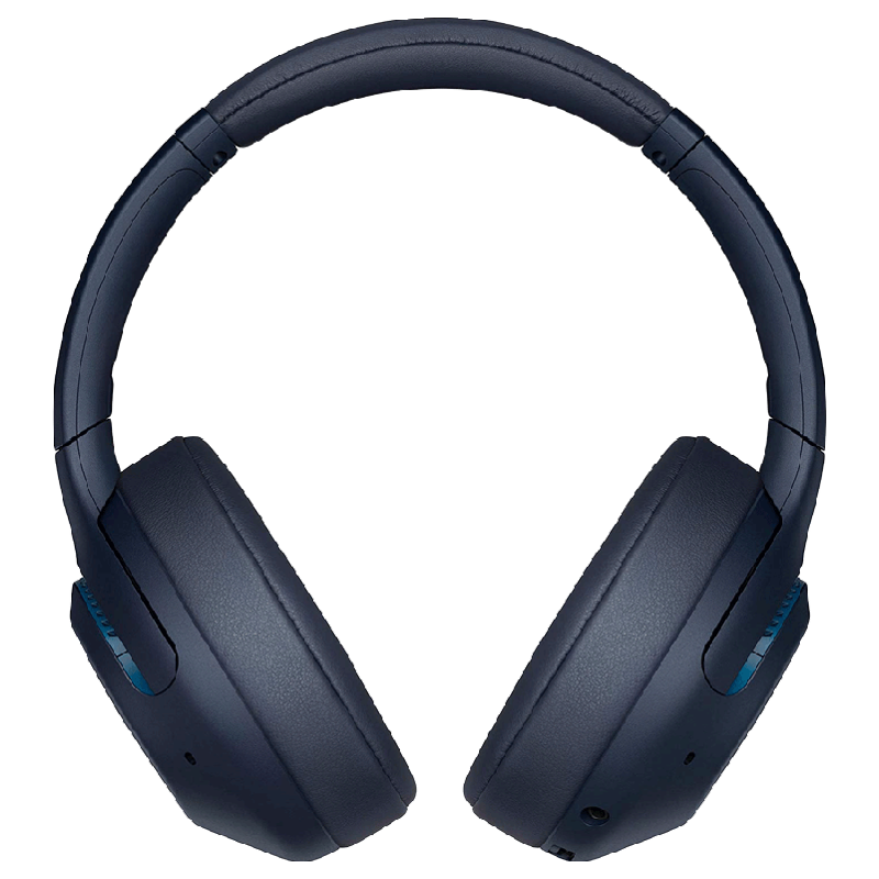 Sony Over-Ear Active Noise Cancellation Wireless Headphone with Mic (Bluetooth 4.2, WH-XB900N, Blue)_1