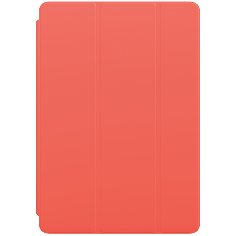 Apple Polyurethane Smart Cover For iPad 8th Generation 10.2 Inch (Foldable, MGYT3ZM/A, Pink Citrus)_1