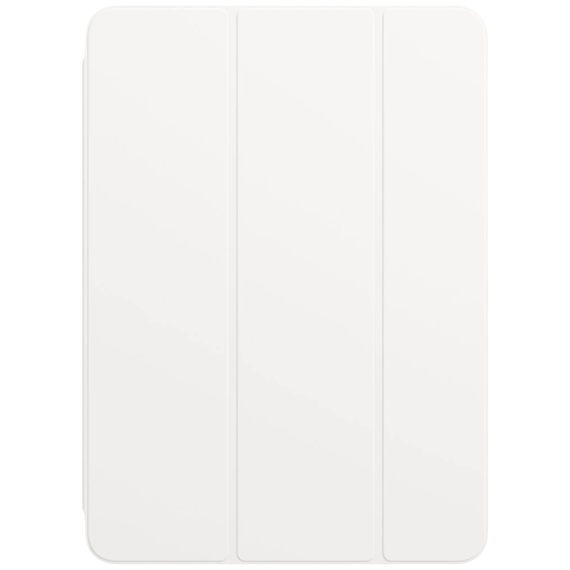 Apple Polyurethane Smart Folio Cover For iPad Air 10.9 Inch (Foldable, MH0A3ZM/A, White)_1