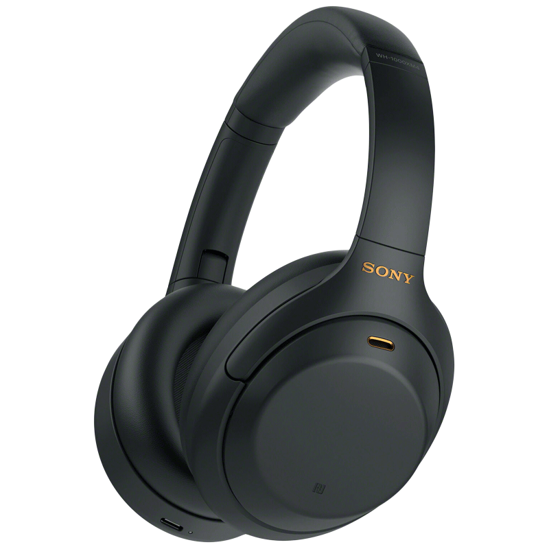 Sony Over-Ear Wireless Headphone with Mic (Bluetooth 5.0, Touch Sensor, WH-1000XM4, Black)