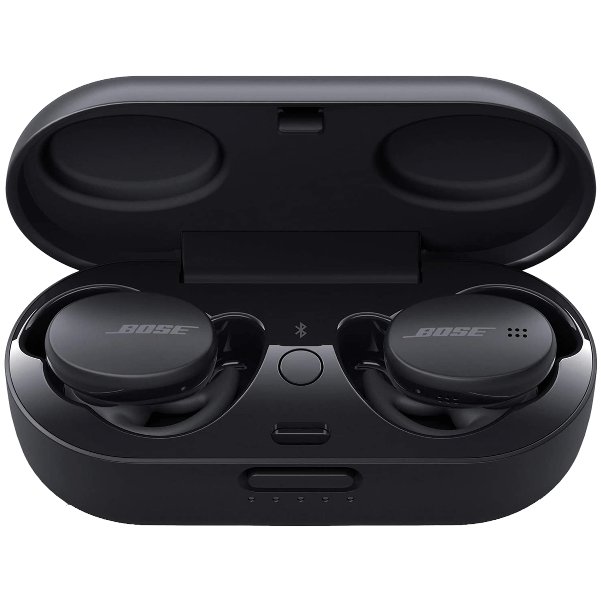 Bose Sport In-Ear Truly Wireless Earbuds with Mic (Bluetooth 5.0, Weather and Sweat Resistant, 805746-0010, Triple Black)_1