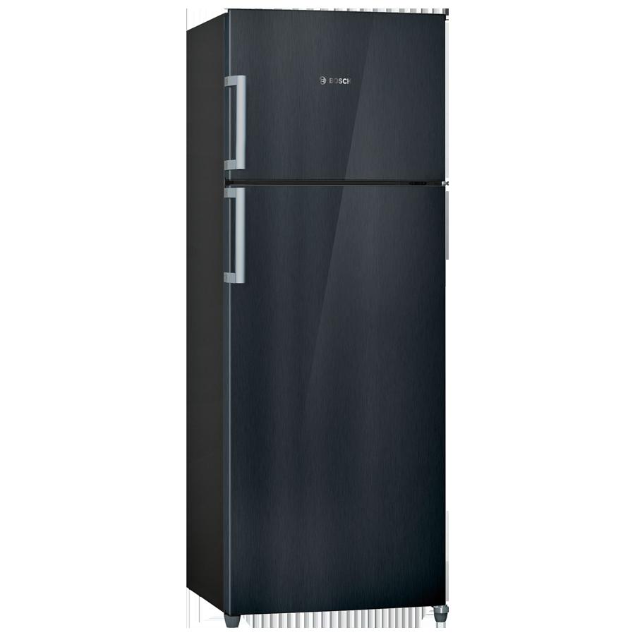 Bosch 347 L 4 Star Frost Free Double Door Inverter Refrigerator (KDN43VB40I, Metallic Black)_1