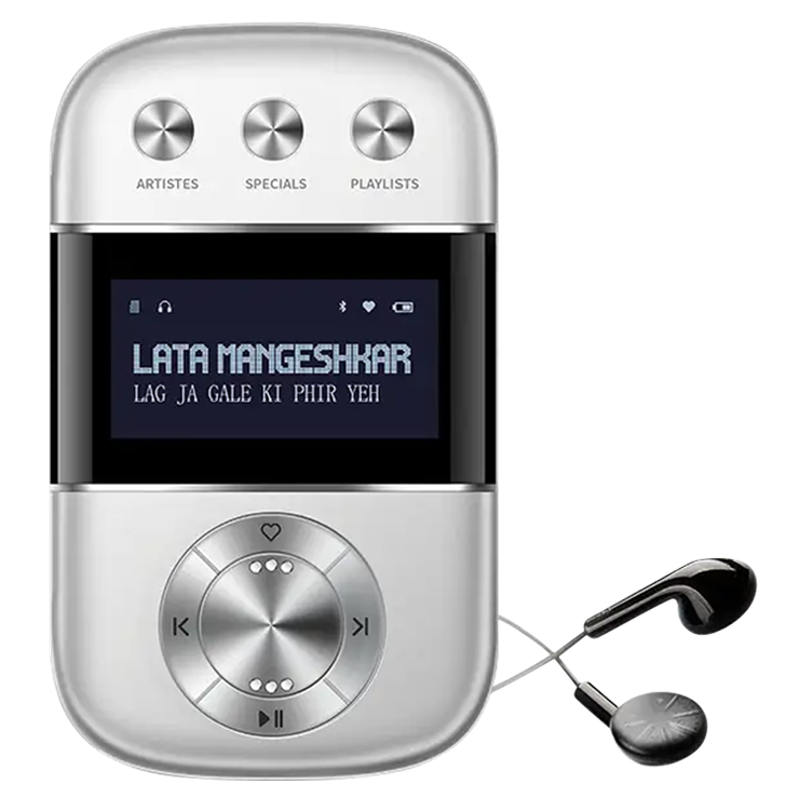 Saregama Carvaan Go Digital Audio Player (GO0001, Silver)_1