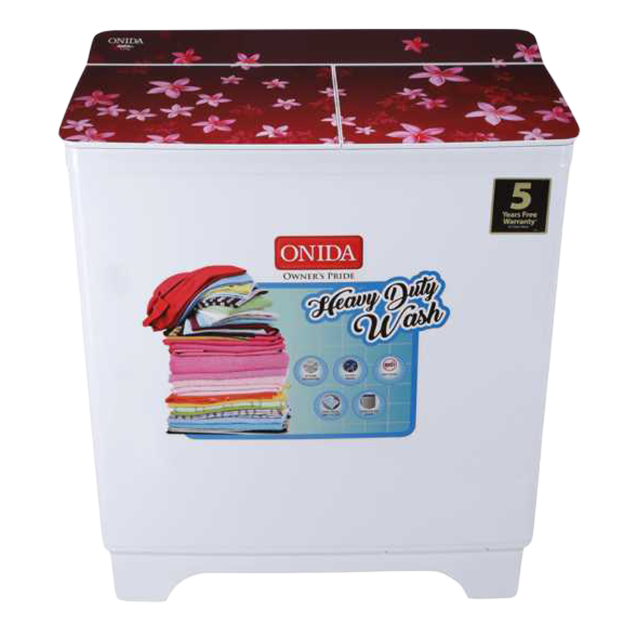 Onida 7.2 kg Semi Automatic Top Loading Washing Machine (Hydrocare 72GC1, White)_1