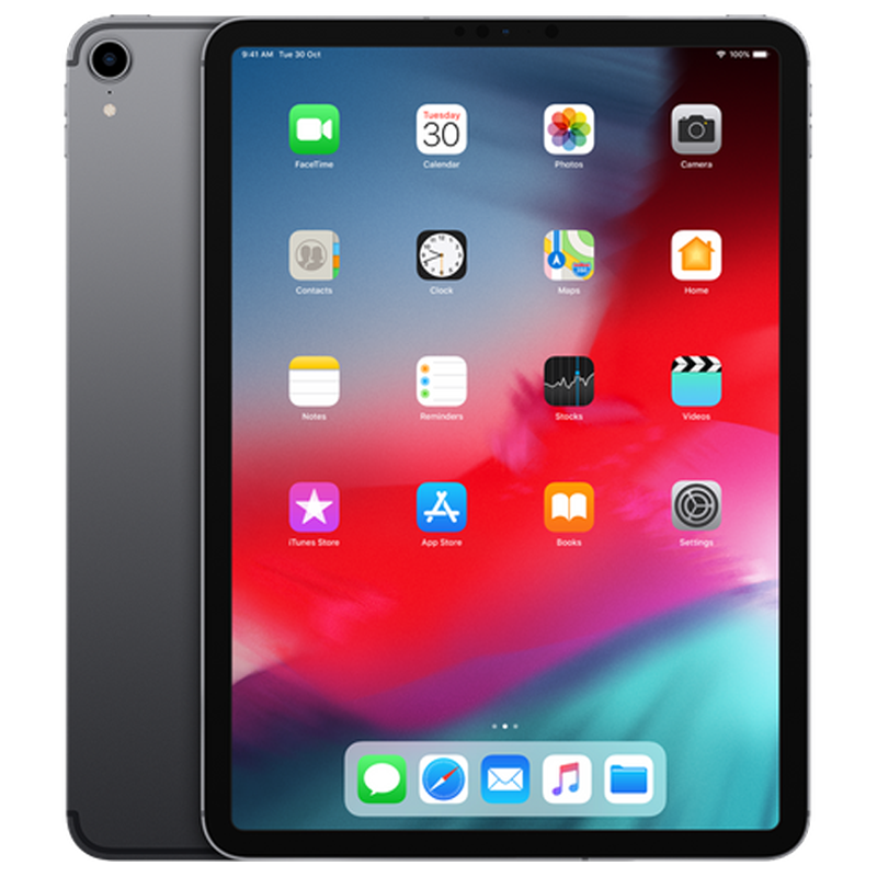 Apple iPad Pro Wi-Fi + Cellular 27.94 cm (11 inch), Space Grey, 256 GB, 4 GB RAM_1
