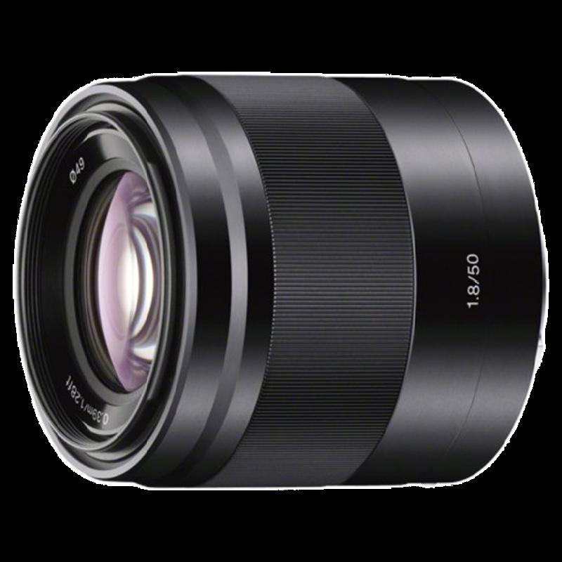 Sony 50 mm F1.8 OSS Lens (Built-in Optical Steady Shot, SEL50F18, Black)_1