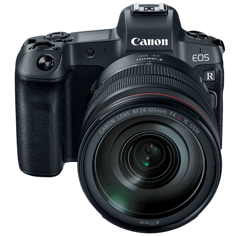 Canon 30.3 MP Mirrorless Camera Body with 24 - 105 mm Lens (EOS R, Black)_1