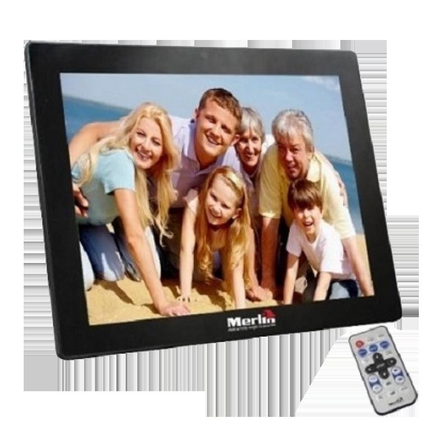 Miracle Digital 10 Inch Digital Photo Frame (Black)_1