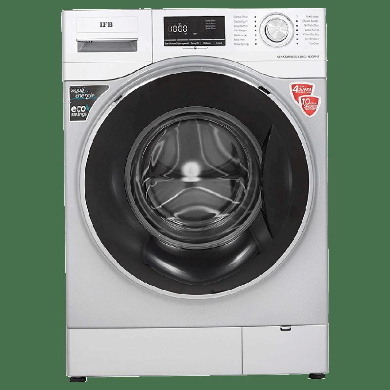 IFB 8 Kg 5 Star Fully Automatic Front Loading Washing Machine (SENATOR WXS, Silver)_1