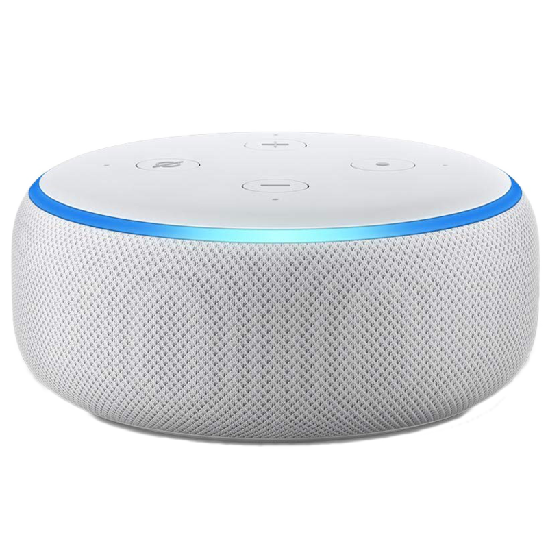 Amazon Echo Dot 3rd Generation Smart Speaker (B07PGL2ZSL, White)