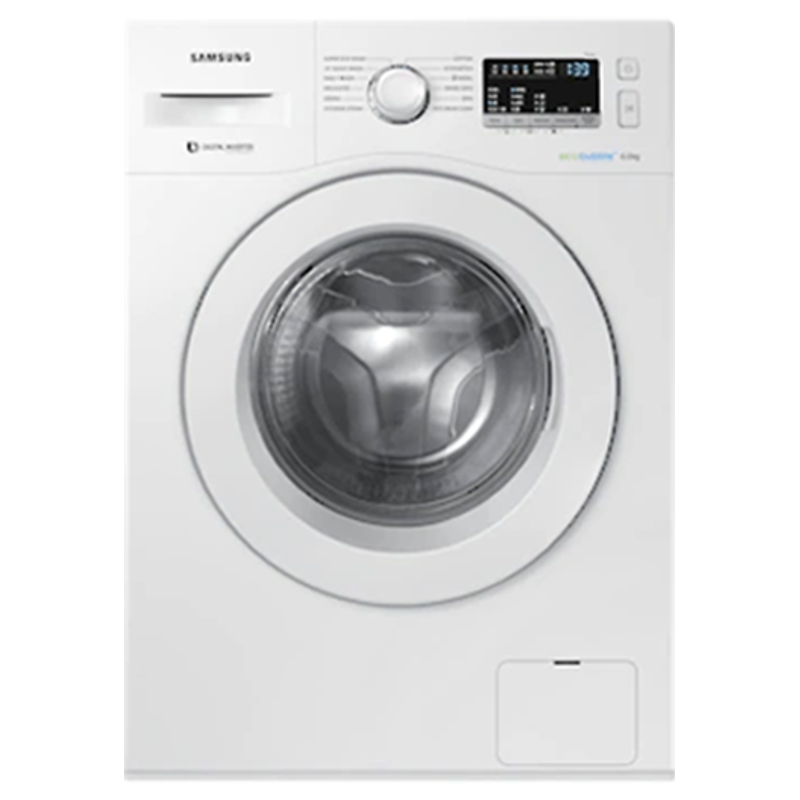 Samsung 6 kg Fully Automatic Front Loading Washing Machine (WW60R20EKMW, White)_1