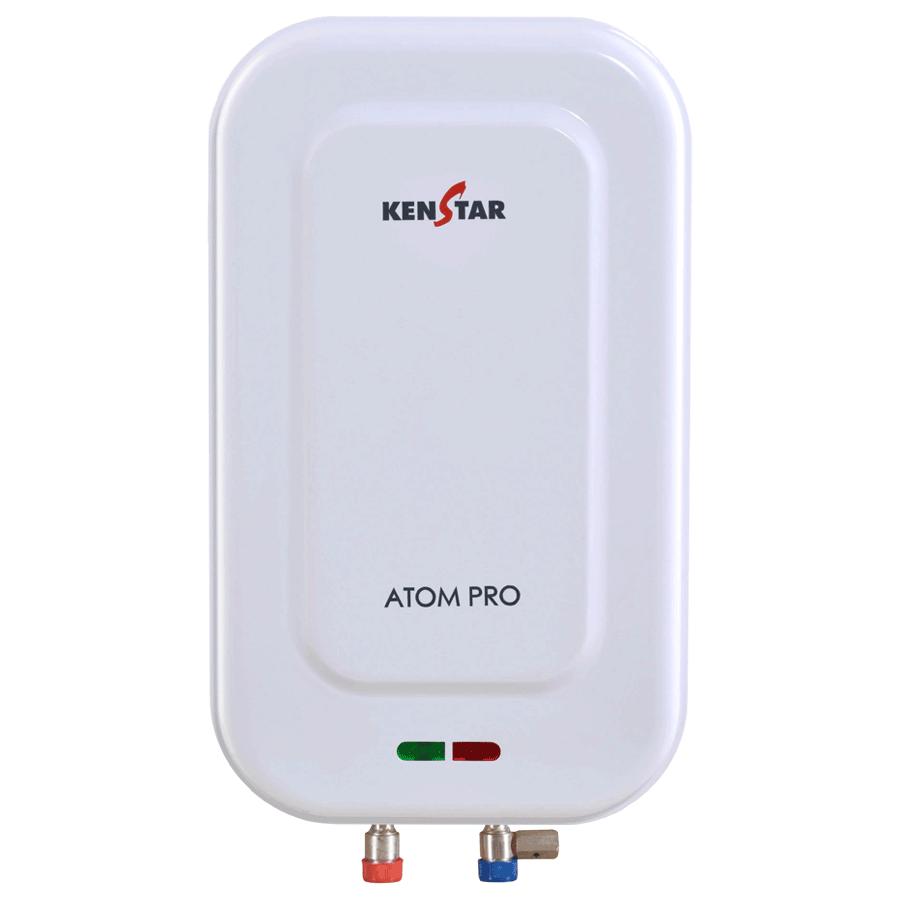 Kenstar Atom Pro 1 Litres Instant Water Geyser (3000 Watts, KGTATP01WP8V3K-DSE, White)_1