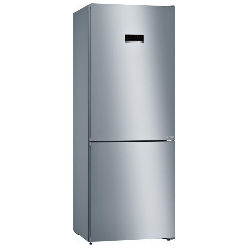 Bosch 415 Litres 3 Star Frost Free Double Door Inverter Refrigerator (KGN46XL40I, Inox)_1