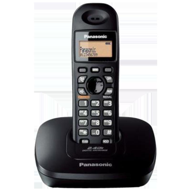 Panasonic Cordless Landline Phone (3611BX/SX, As Per Stock Availability)_1