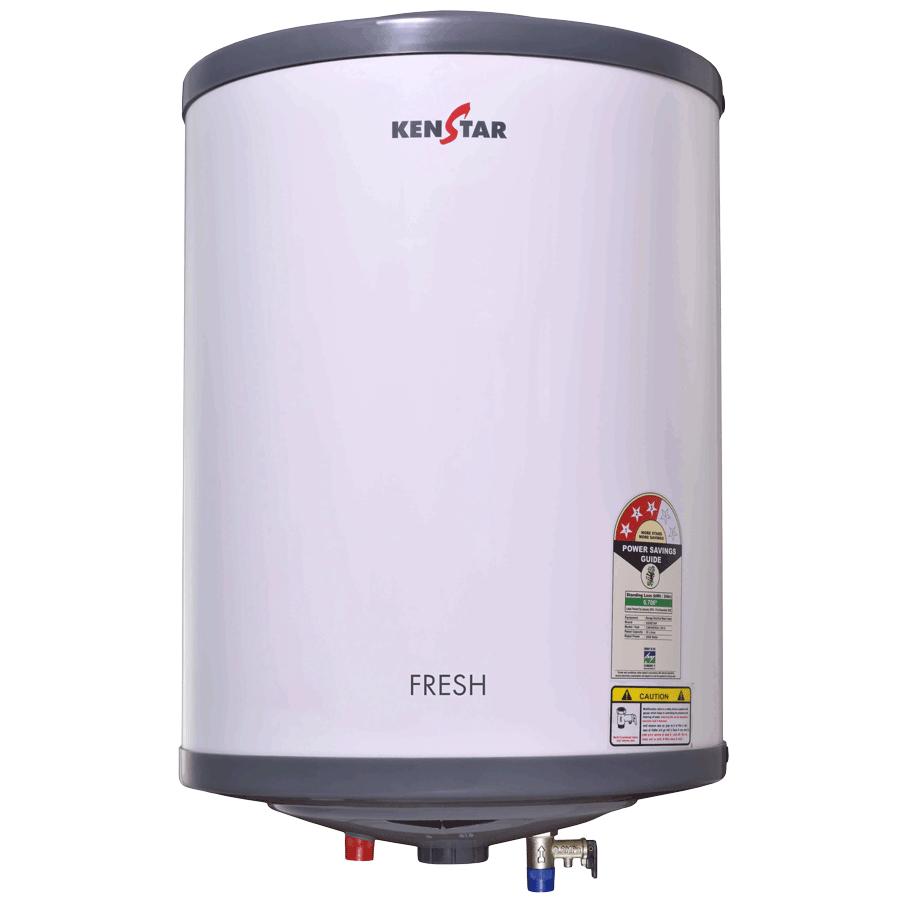 Kenstar Fresh 6 Litres 4 Star Storage Water Geyser (2000 Watts, KGSFRE06GP8VGN-DSE, White/Grey)_1