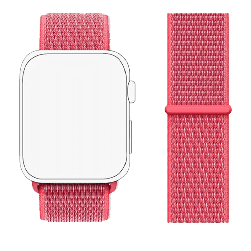 Robobull 38/40 mm Nylon Apple Watch Strap (3770000107, Dark Pink)_1