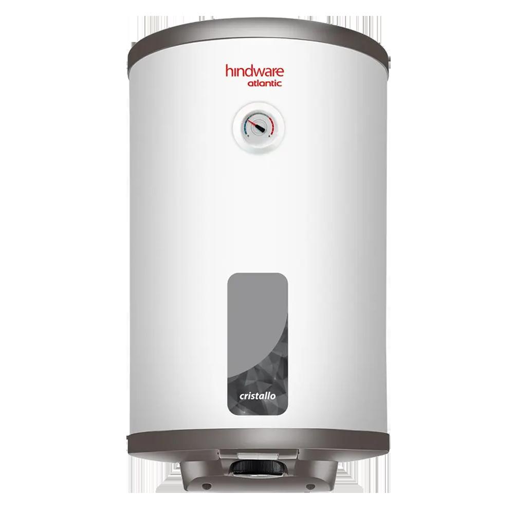 Hindware Atlantic Cristallo 15 Litres 5 Star Rating Storage Water Heater (2000 Watts, HSWHCR15WM2VGL, White)_1