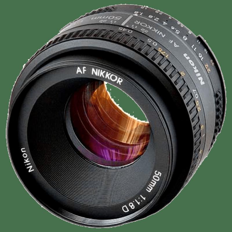 Nikon AF 50 mm F1.8-F22 Lens (JAA013DA, Black)_1