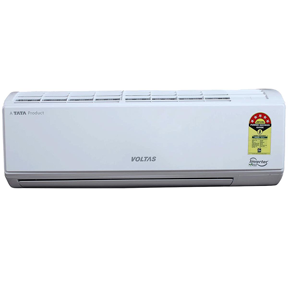 Voltas 1.2 Ton 5 Star Inverter Split AC (Copper Condenser, 155V DZW, White)_1