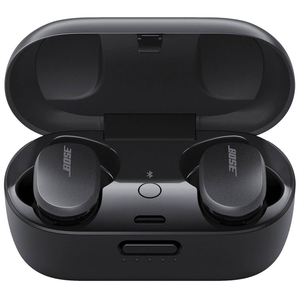 Bose QuietComfort In-Ear Truly Wireless Earbuds with Mic (Bluetooth 5.1, Sweat and Weather Resistant, 831262-0010, Triple Black)_1