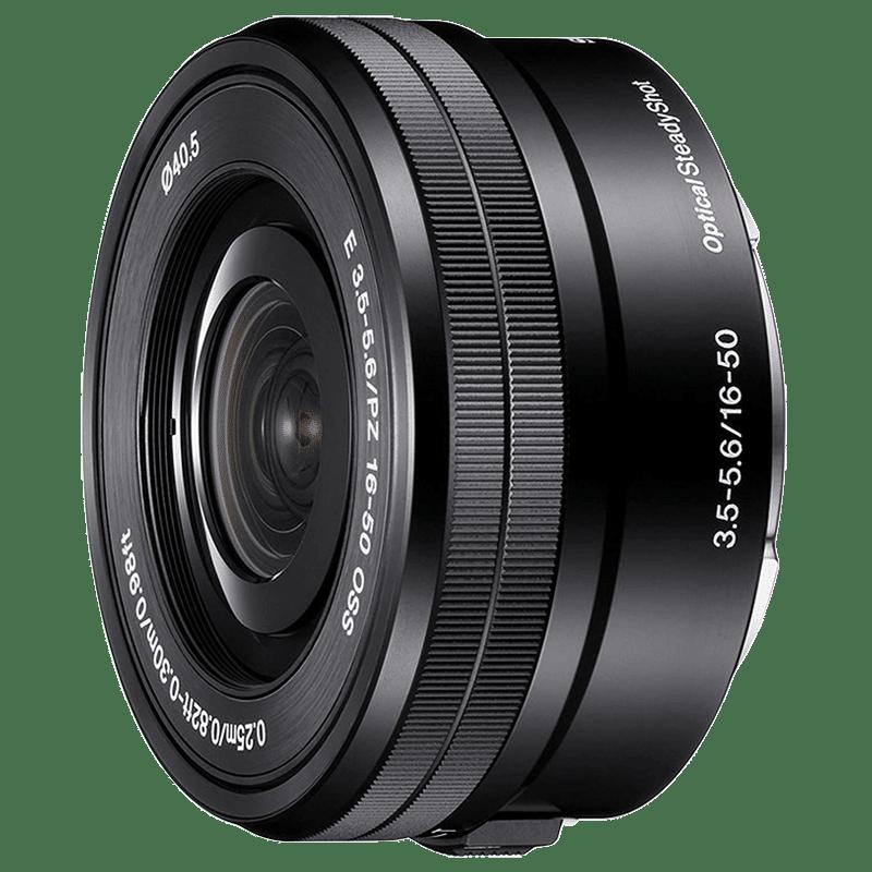 Sony E PZ 16-50 mm f/3.5-5.6 OSS Lens (SELP1650//Q AE, Black)_1