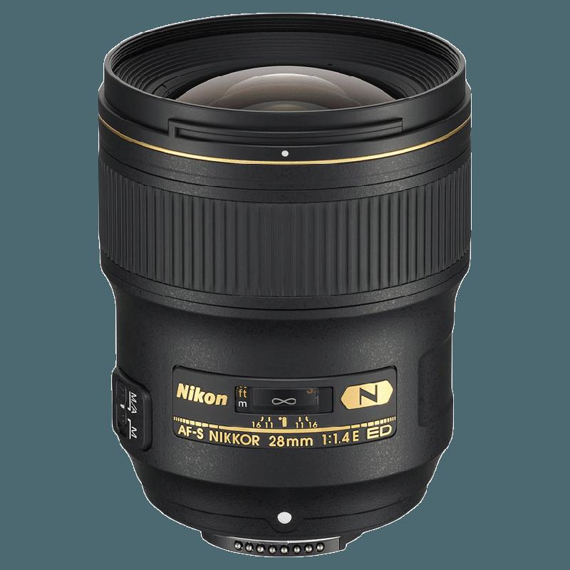 Nikon Nikkor Lens (AF-S 28 mm f/1.4E ED, Black)_1