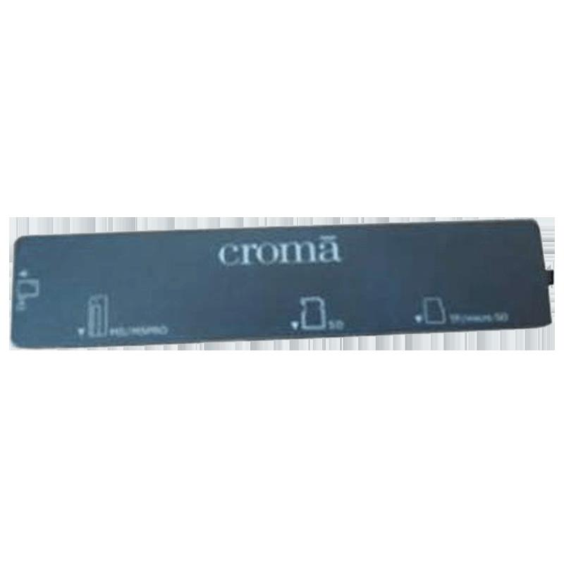 Croma USB 1.1 (Type-A) to USB 2.0 (Type-A) Mini Card Reader (CRXA1219, Black)_1