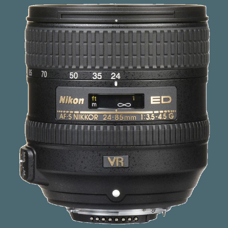 Nikon Nikkor Lens (AF-S 24-85 mm f/3.5-4.5G ED VR, Black)_1
