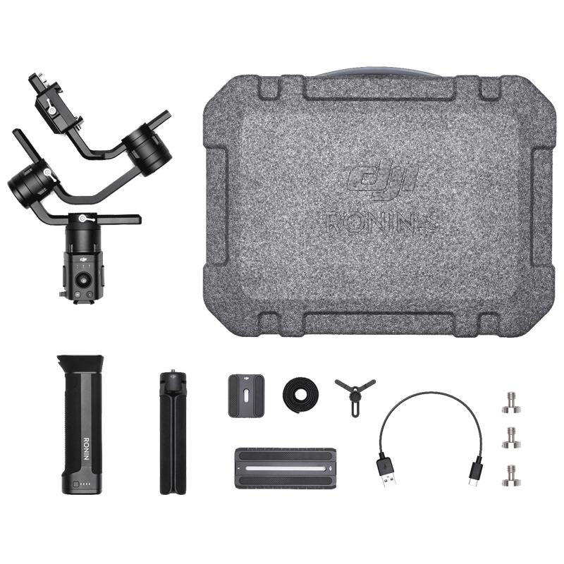 DJI Essentials Camera Gimbal Kit (Ronin-S, Black)_1