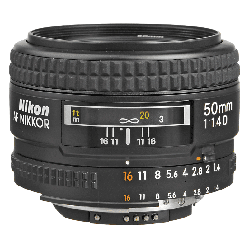 Nikon Nikkor Lens (AF 50 mm f/1.4D, Black)_1