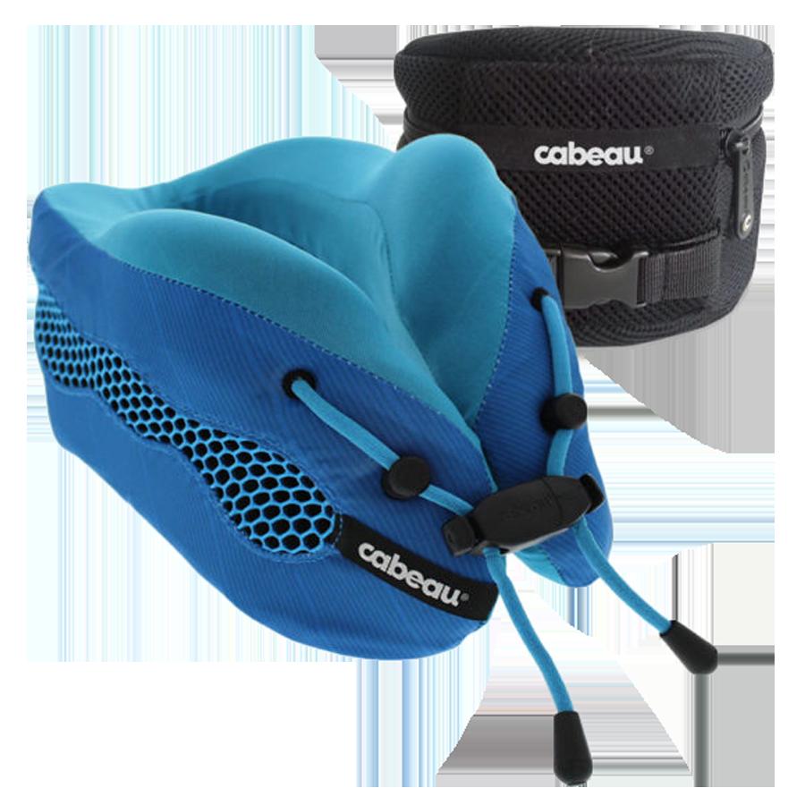 Cabeau Evolution Cool Travel Neck Pillow (TPEC2832, Blue)_1