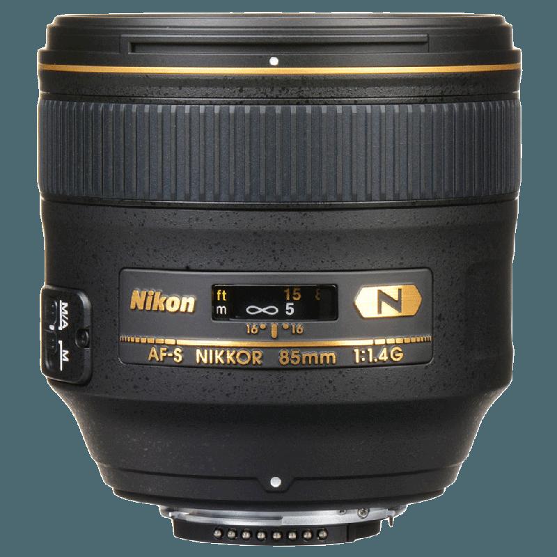 Nikon Nikkor Lens (AF-S 85 mm f/1.4G, Black)_1